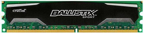 Ballistix Sport 8GB DDR3 1600 MT/s (PC3-12800) UDIMM 240-Pin - BLS8G3D1609DS1S00CEU