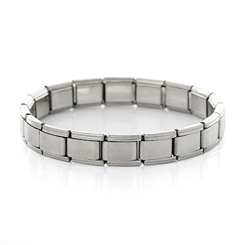 Sexy Damen Starter funkelt italienischen Charme 18Link Armband