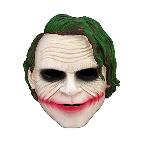 hcoser Batman: The Dark Knight Joker Maske Kostüm Cosplay Requisite für Erwachsene