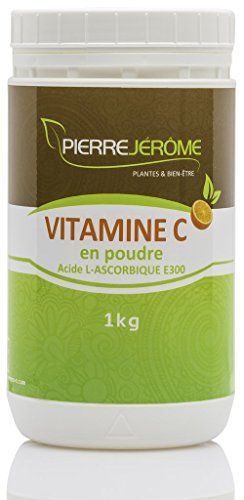Vitamine C 1 Kilo en poudre en pot CAS 50-81-7 - Pierre Jérôme®