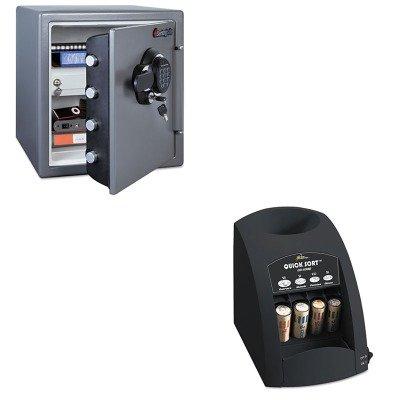 kitrsico1000sensfw123gdc–Value Kit–Sentry Electronic brandschutzsicher (sensfw123gdc) und Royal Sovereign Schnell Sortieren CO-1000one-row Münzsortierer (rsico1000)