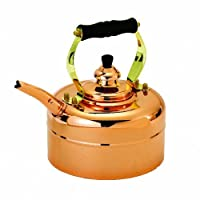 Old Dutch 868 Tri-Ply Copper Windsor Whistling Teakettle, 3-Quart
