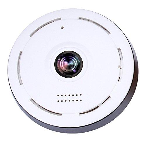 WI-FI Rauchmelder Kamera Mini Kamera 360 Grad Weitwinkel 3D HD VR Fernüberwachung Bewegungserkennung Nachtsicht 2-Wege Audio Kostenlos APP für IOS iPhone Android Phone Remote View SW05