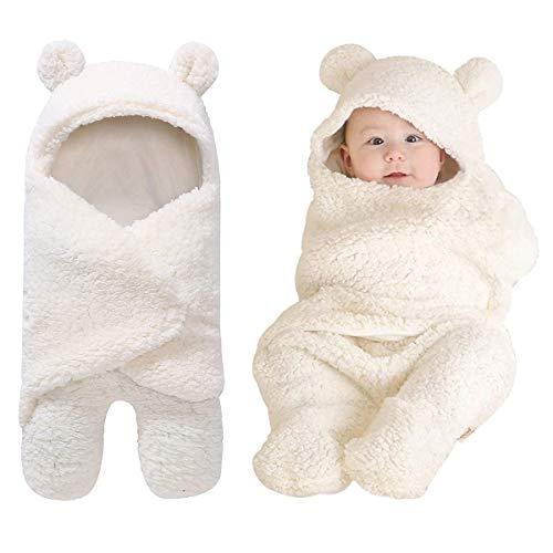 Yinuoday - Manta capucha bebé recién nacido, manta