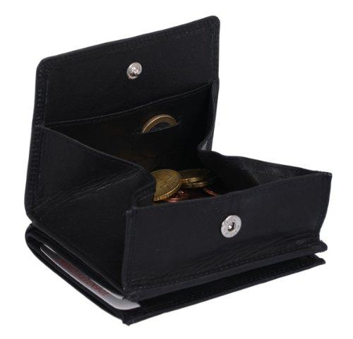 Wiener Schachtel LEAS in Echt-Leder, schwarz - LEAS Special Edition