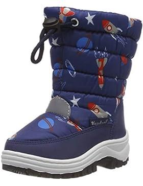 Playshoes Winter-Bootie Weltraum, Botas de Nieve Unisex niños