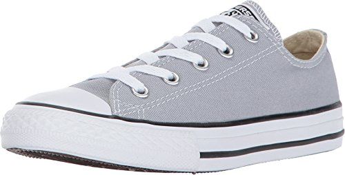 Converse Kids' Chuck Taylor All Star Low Top Fashion Shoe, Wolf Grey Size 11C Chuck Taylor Kids Top