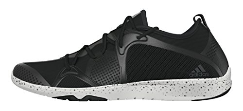 adidas Damen Adipure 360.4 W Laufschuhe Black (Negbas / Nocmét / Ftwbla)