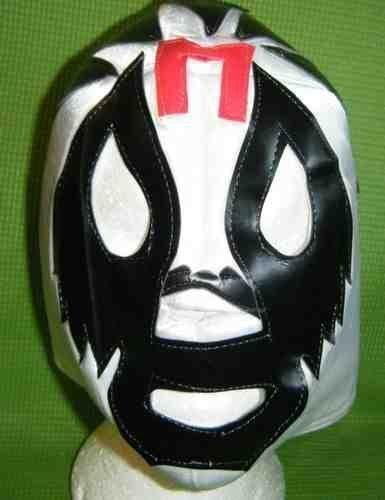 xikanischer WWE Wrestling Maske für Erwachsene Lucha Libre Hirsch Do Party Halloween wwe tna ecw roh AAA (Lucha Libre Halloween-maske)