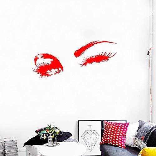 Charming augen vinyl wandtattoo wohnkultur wohnzimmer schlafzimmer kunstwand entfernbare wandaufkleber 18 * 58 cm