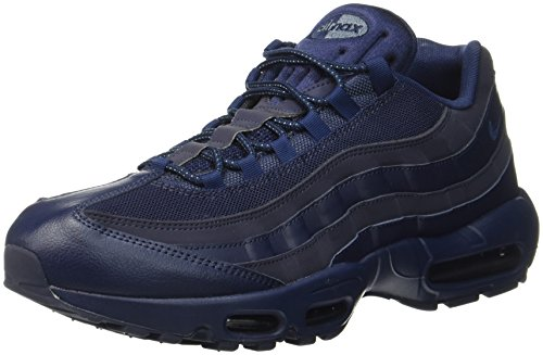 8c0fe8df83a Nike Men's Air Max 95 Essential Gymnastics Shoes, Blue (Midnight  Navy/Midnight Navy/Obsidian), 13 UK