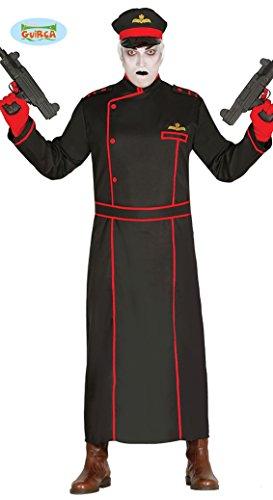 (gotischer Krieger Halloween Kostüm für Herren Soldat Geister Spion Geist Gr. M/L, Größe:M)