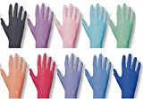 Einmalhandschuhe PEARL ColorLine von Unigloves, Nitril, verschiedene Farben Mint M medium