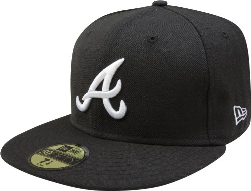 Basic Atlanta Braves Cap 7 1/8 - 56,8 cm (Atlanta Braves Hüte)