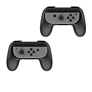 Althemax 2x Grip Kits Joy-Con Griffe Daumen Griffe Griff Schutz Controller Case Race Car Remote Dock Zubehör Joy-Con Schwarz / Rot / Blau Für Nintendo Switch Mario Car Racing Spiele