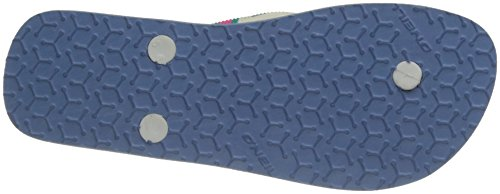 O'Neill - Fw Printed Strap, Infradito Donna Blanc (Pink Aop)
