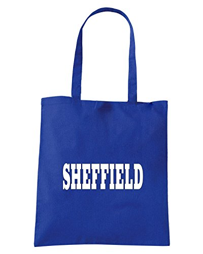 T-Shirtshock - Borsa Shopping WC0763 SHEFFIELD Blu Royal
