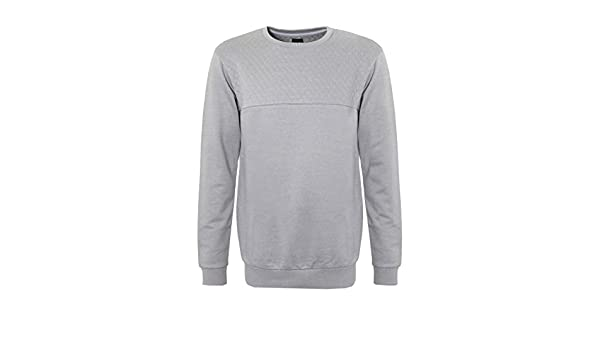 98 86 Herren Sweatshirt | Sweat mit Steppung | Casual Sweat