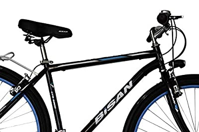 """T&Y Trade 28"""" 28 Zoll Jungen Jugend Herren City Trekking CITYBIKE Fahrrad Trekkingfahrrad Herrenfahrrad Herrenrad CITYFAHRRAD Rad Bike 21 Gang Man Schwarz Blau 5200"""