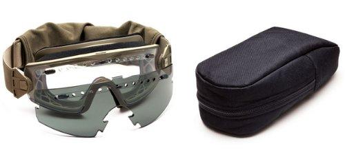 Smith Optics Elite Tactical Schneebrille mit Wechselscheibe, Unisex, Lopro Regulator, hautfarben, Nicht zutreffend