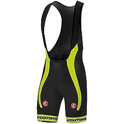 Uglyfrog Bike Wear - Pantalón Corto para Hombre Bib Shorts with Gel Pad HBS12