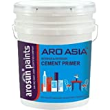 Arosun Paints Aro Asia Cement Primer For Interior & Exterior For A Stylish Home Décor (4 Litre,White)