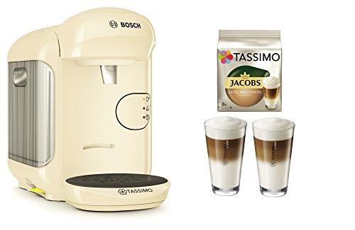 Bosch TASSIMO Vivy 2 Bundle + Latte Macchiato Gläser...