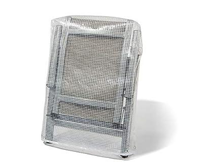 Abdeckhauben-Shop.de Schutzhülle für Gartenstühle Passend für Niedriglehner 100% Wasserdicht (80x95cm) von Abdeckhauben-Shop.de - Gartenmöbel von Du und Dein Garten