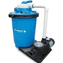 Speedclean Premium Hybrid Sandfilteranlage für Pool bis 61m³ Sandfilter Filter Filterkessel