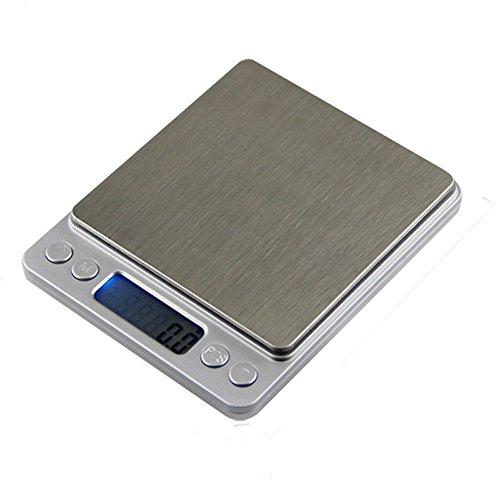 Digital Gewicht Balance Waage Elektronische Smart Kitchen Maßstab Edelstahl Höhe Genauigkeit Jewelry Diät Lebensmittel Maßstab 500g/0.01g (Cherokee Leggings)