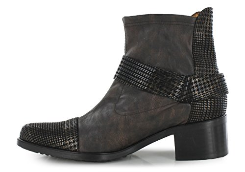 FRANCE MODE ZOO - Bottines / Boots - Femme Bronze