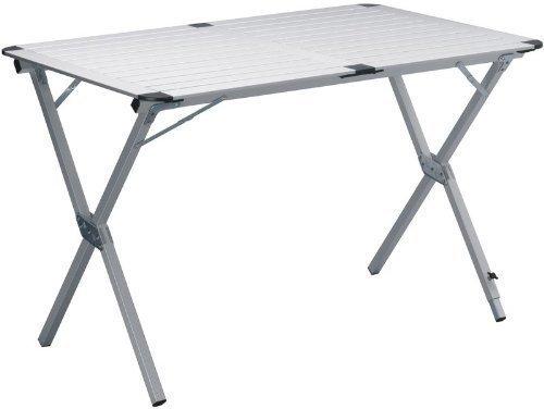 Alu Campingtisch Ca 111x73cm Aluminium Picknick Tisch Zusammenrollbar Leicht Und Stabil