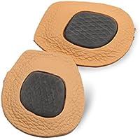 SUPVOX Paar Vordersohle Weiches Leder Schuh Pad Anti-Rutsch-Vorfuß-Kissen preisvergleich bei billige-tabletten.eu