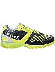 GRAYS gx5500–Zapatos, color negro y amarillo