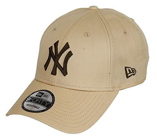 b64363ab66871 Imagen de new era new york yankees new era 9forty adjustable cap league  essential wheat  ...