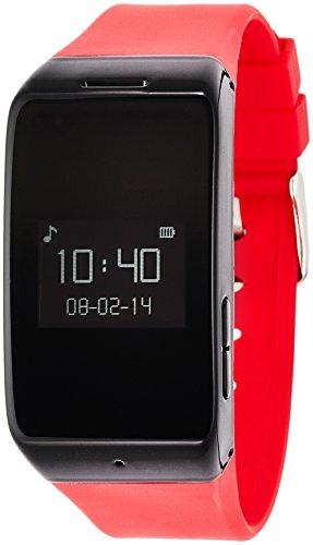 MyKronoz ZeWatch 2 Montre d'activité pour Smartphone Rouge