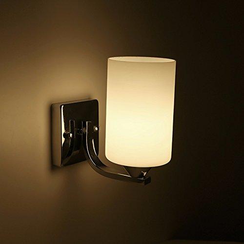 SKTDBG Dual Head Kammer wandleuchte wandleuchten Lampen Geschäfte,Der Kopf der .5.Weißes LichtLedGlühlampe? (Acryl-kammer)