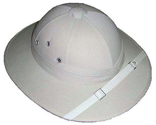 (Classic Safari Hat/Tropenhelm-massiv Nachbildung des Colonial Kopfbedeckung)