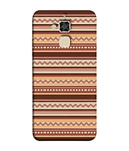 PrintVisa Designer Back Case Cover for Asus Zenfone 3 Max ZC520TL (5.2 Inches) (Pattern chocolaty brown coffee colour)