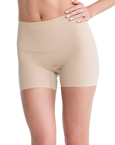 Spanx Womens Shape My Day Girl Short in Natural Size Large SS7215 (Girls Natural Womens)