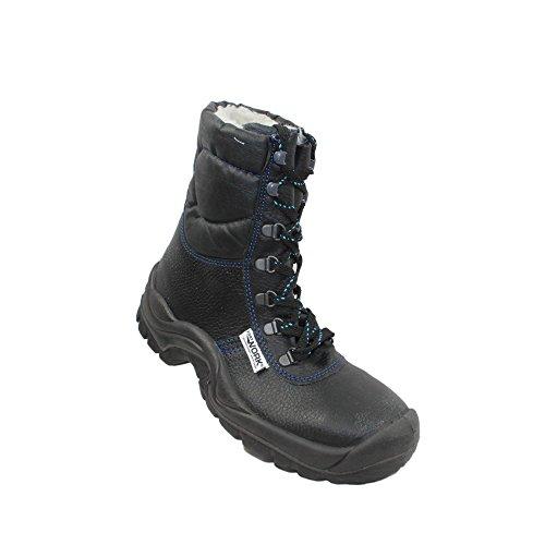 Trabalho Continuou Botas De Wi-protetora Uk S3 Sapatos De Segurança Ci De Trekking Botas Sapatos Pretos