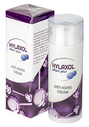 HYLAXOL - Hyaluronsäure Creme I Anti Aging Effekt I Reduziert Falten | Für eine schöne, straffe, faltenfreie und glatte Haut | Hyaluron...