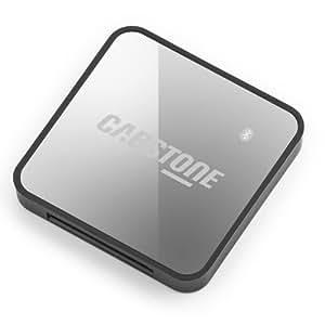 Cabstone DockingStreamer Bluetooth (Audio-Empfänger für analoge Apple Docking-Stationen), silber