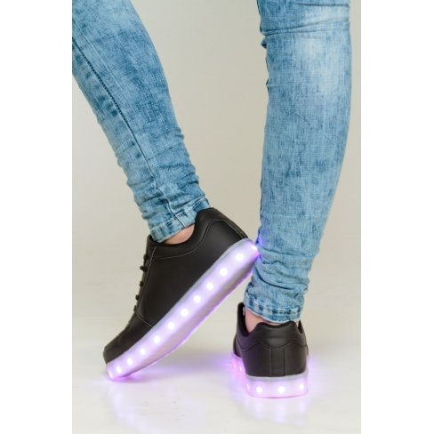 Princesse boutique - Baskets LED noire Noir