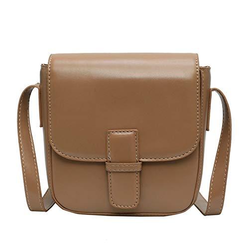 Mode klassischen Temperament einfach Versa Damentasche Senior Sense Bag weiblich 2019 einfache einfache Retro Retro Kunst kleine quadratische Tasche Wilde Messenger ()