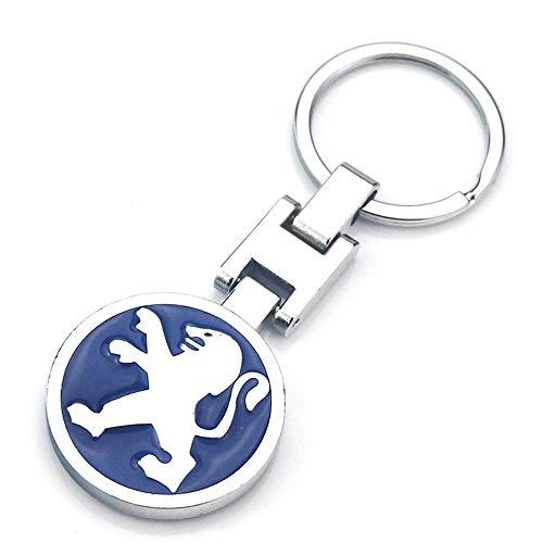 VILLSION 3D Portachiavi Auto in Lega Metallica Logo Portachiavi Accessori con Scatola Regalo