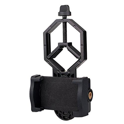Svbony Smartphone Adapter Universal Fernglas Teleskop Smartphone Adapter Aluminiumlegierung Spektiv Handy Adapter für Teleskop Spektiv Mikroskop