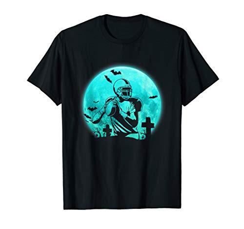 Halloween-Spieler-Fußball-lustiges Geschenk für Männer T-Shirt