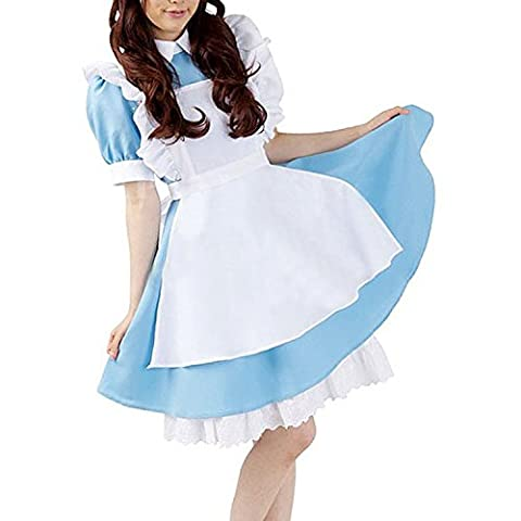Adultes Disney Costumes - Minetom Nouvelle Alice In Wonderland Cosplay Costume