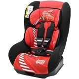 Osann Kinderautositz Safety Plus NT Disney Cars Lightning Mc Queen rot, 0 bis 18 kg, ECE Gruppe 0 / 1, von Geburt bis ca. 4 Jahre, reboard bis 10 kg nutzbar
